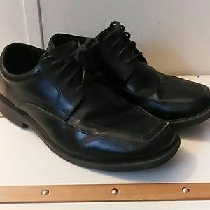 Mens Black Dress Shoes Sz 8